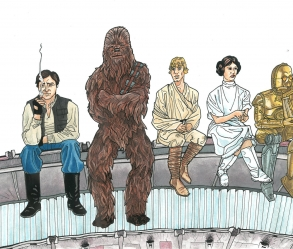 [Image: Star Wars // The Breakfast Club]