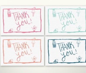 [Image: Thank You! Cards]