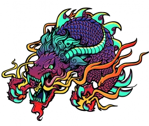 [Image: Dragon Tattoo Design]